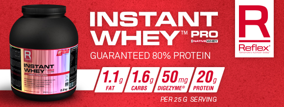 Instant Mass Pro เวย์โปรตีนเพิ่มน้ำหนัก