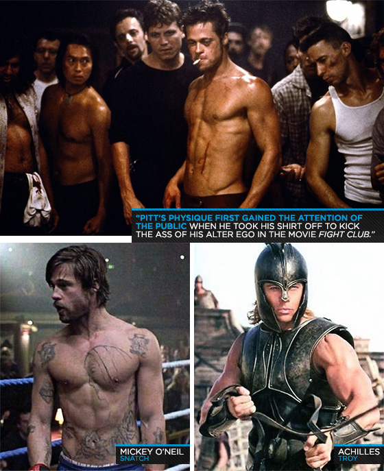 Let develop like Brad Pitt with this workout !