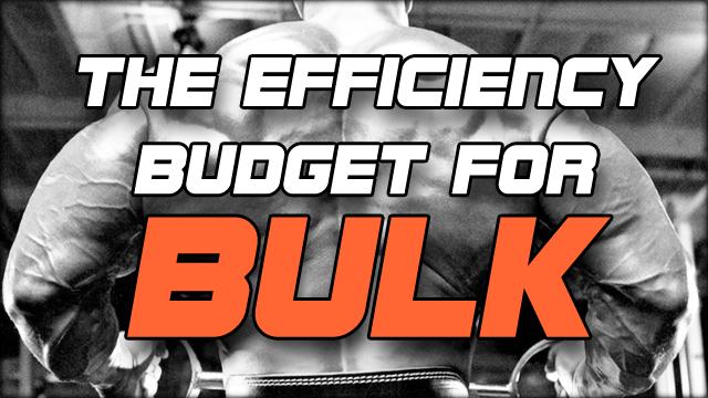The efficiency budget for BULK, มื้ออาหารแบบประหยัดงบสำหรับคนที่ต้องการเพิ่มมวลกล้ามเนื้อและเพิ่มน้ำหนัก