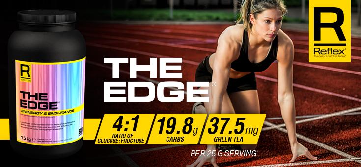 reflex the edge เป็น pre-workout สำหรับรับประทานก่อนออกกำลังกาย เพื่อเพิ่มสมรรถภาพให้ดียิ่งขึ้น สามารถออกกำลังกายได้นานขึ้นและหนักขึ้นกว่าเดิม